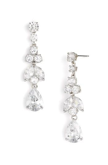 ah yes, nothing like finding earrings you would want to wear to your wedding months later