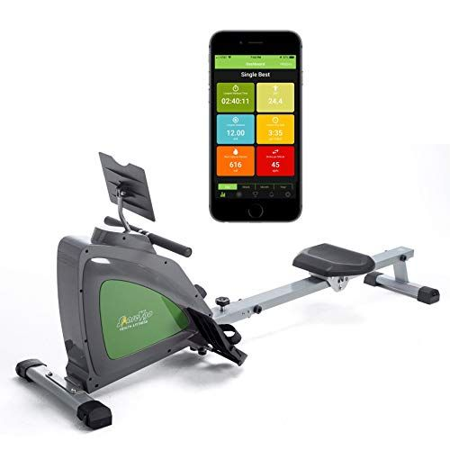 Sharevgo Smart Rower Folding Magnetic Rowing Machine With Https Www Amazon Com Dp B07wpl85tm Ref Cm Sw R Pi Dp Workout Log Full Body Workout Fitness Body