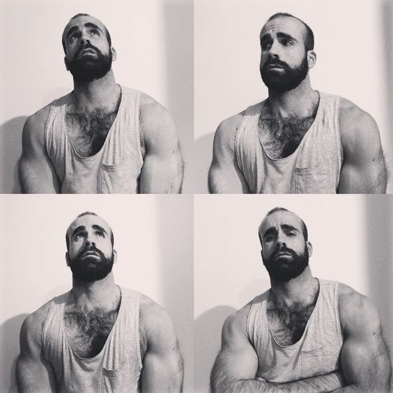 """""""Replicants #scruff #hairychest #beard #bearded #muscle #musclebeard #instamuscle #instabeard"""""""