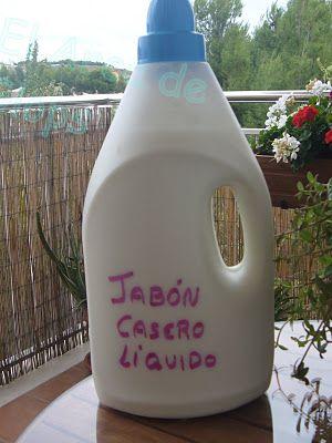 Tutorial como hacer jab n casero l quido con thermomix - Como hacer plastico liquido ...