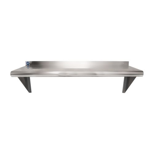 Universal Ws1236 36 X 12 Stainless Steel Wall Mount Shelf