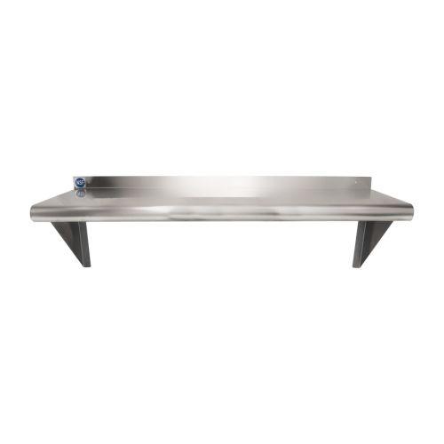 Universal Ws1236 36 X 12 Stainless Steel Wall Mount Shelf