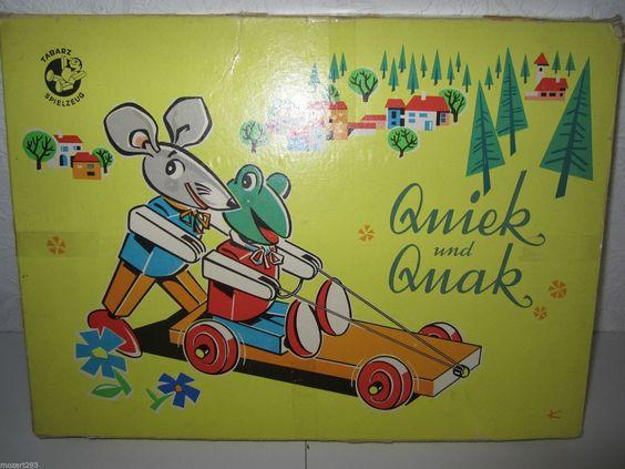 DDR Spielzeug Tabarz Baukasten  u0026quot; Quiek  u0026 Quak  u0026quot;   eBay   damals   Pinterest   eBay