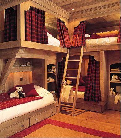 Chalets chambres d 39 enfants and chambres on pinterest - Chalet enfant ...