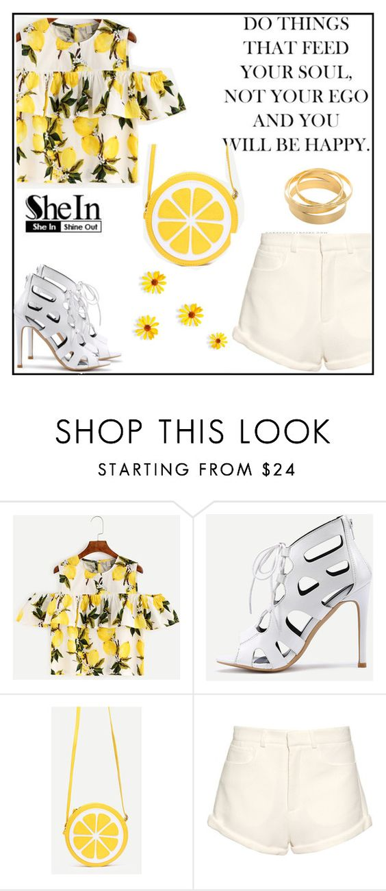 """""""Shein 3"""" by amra-f ❤ liked on Polyvore featuring Raey"""