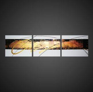 Tableau peinture tableau abstrait moderne design abstrait acrylique rumble - Toile acrylique moderne ...