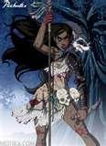 gothic Pocahontas