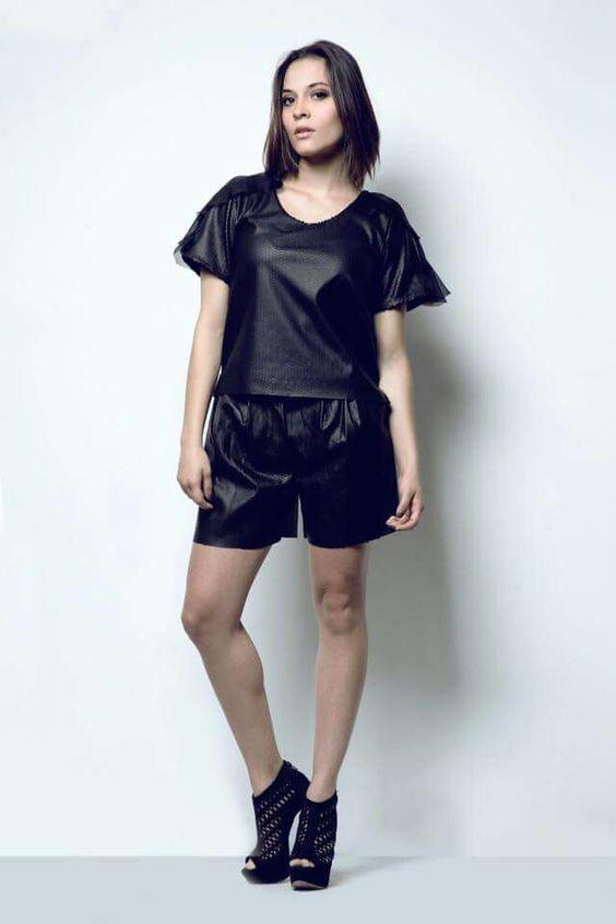 Black Total look de Galvanhe