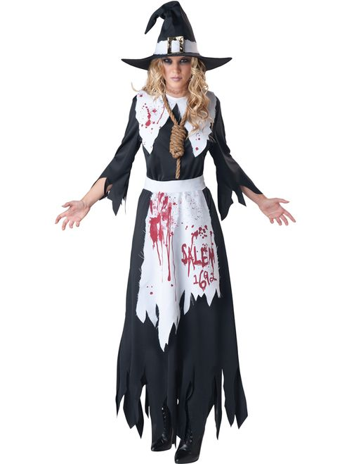 Conjure up a spooky and historic Halloween costume with this Salem Witch attire…