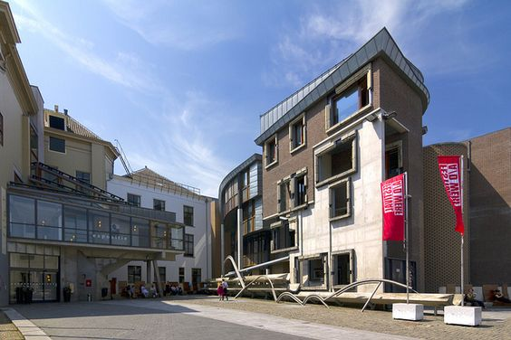 Enric Miralles & Benedetta Tagliabue's Utrecht Town Hall Extension by Wojtek Gurak, via Flickr