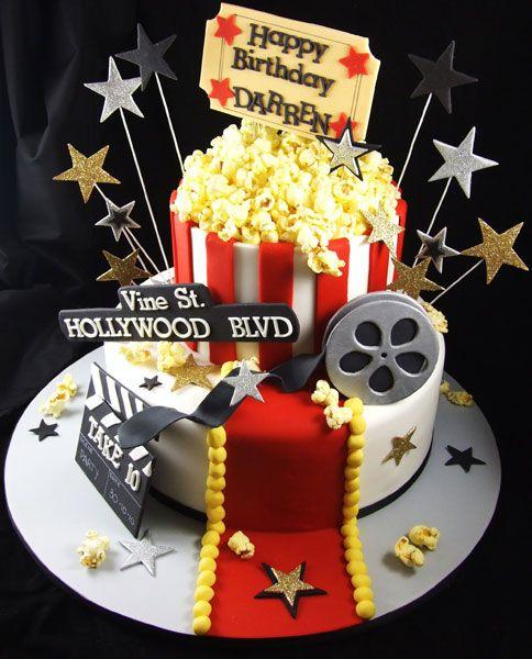 The  Best Movie Cakes Ideas On Pinterest Film Mud Movie - Movie themed birthday cake