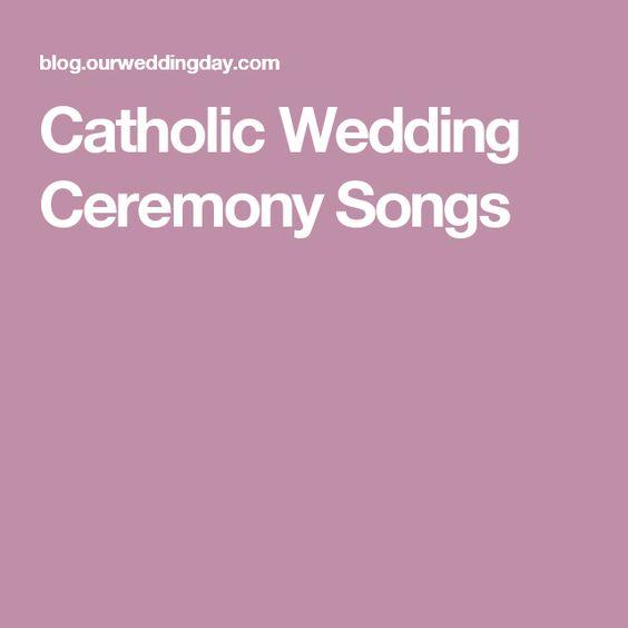 Catholic Wedding, Wedding Ceremonies And Catholic On Pinterest