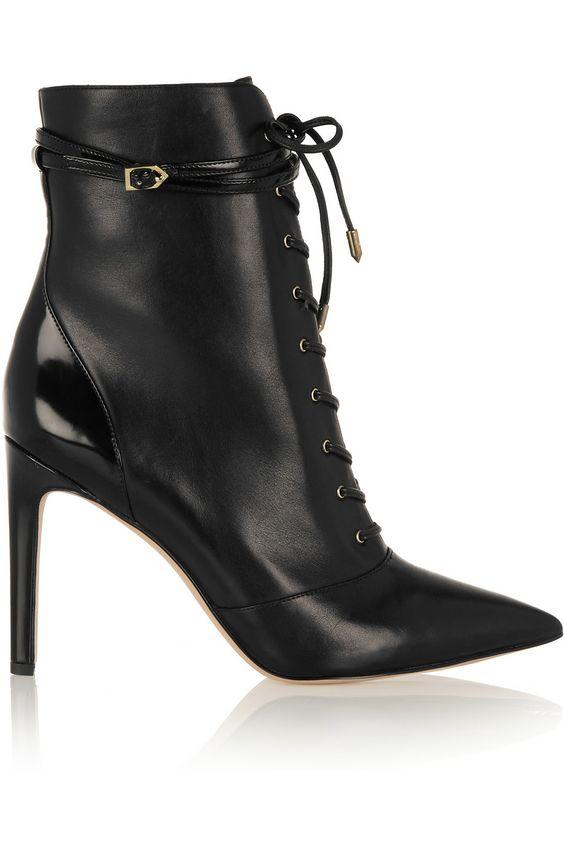 Sam Edelman | Bryton leather ankle boots | NET-A-PORTER.COM