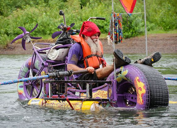 The Bouncing Nome at DaVinciDays Kinetic River Race by ap via Flickr