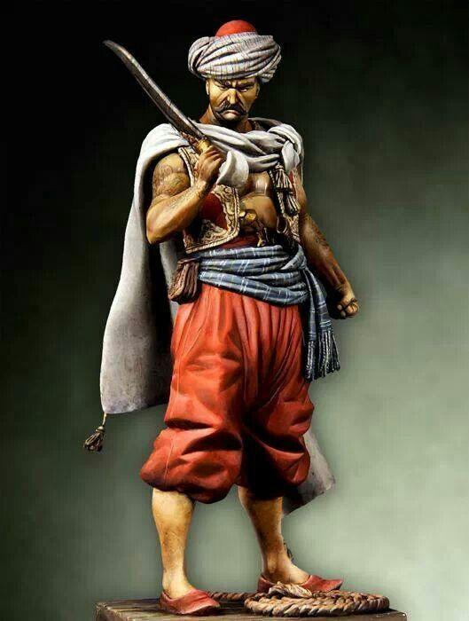 Afbeeldingsresultaat voor ottoman warrior