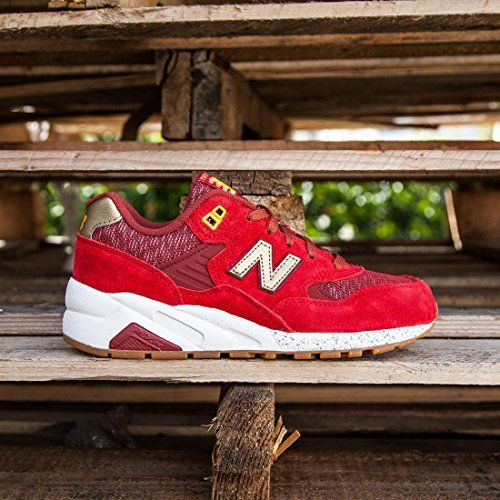 new balance 580 womens red