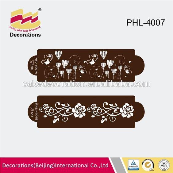 Source long cake coffee powder stencil on m.alibaba.com