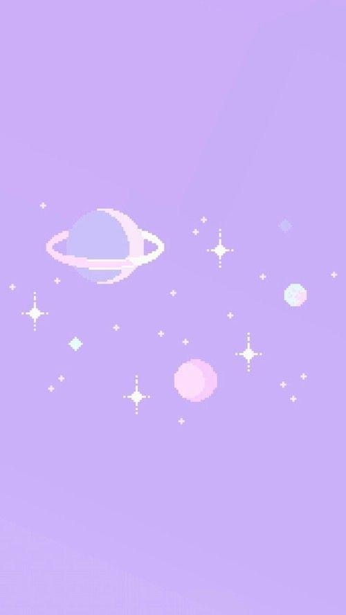 Imagen De Background Color And Estrellas Purple Wallpaper Iphone Purple Wallpaper Aesthetic Pastel Wallpaper
