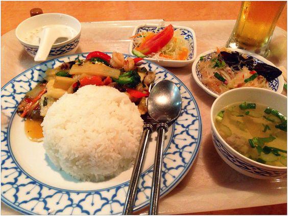 Thai lunch in Kawasaki