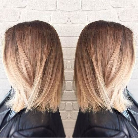 26 belles coiffures pour l'épaule Longueur des cheveux