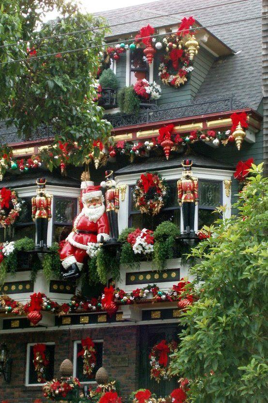 Christmas Decorated House San Francisco : The world s catalog of ideas