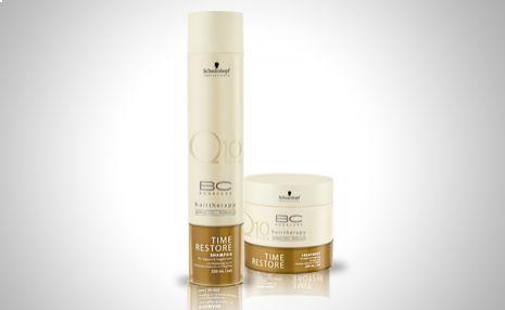 Schwarzkopf Time Restore champú y tratamiento para reparar los signos del tiempo en tu cabello http://www.doferta.com