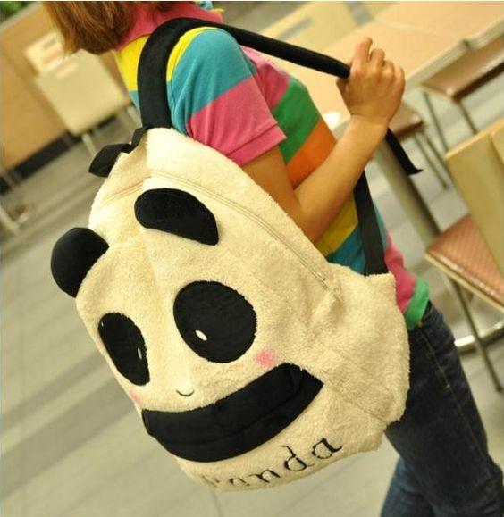 Cute kawaii panda backpack bags