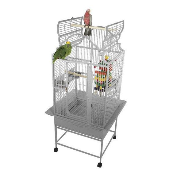 """A&E Cage Co. 24"""" x 22"""" Stainless Steel Elegant Top"""