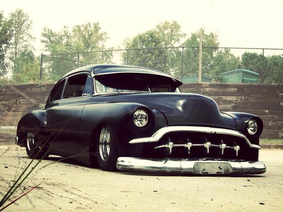 That is one bad ass car. #black #hotrod #classiccar