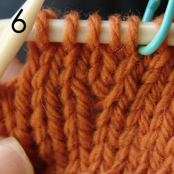Knit Stitch Below Increase : How to work, Knitting and Stitches on Pinterest