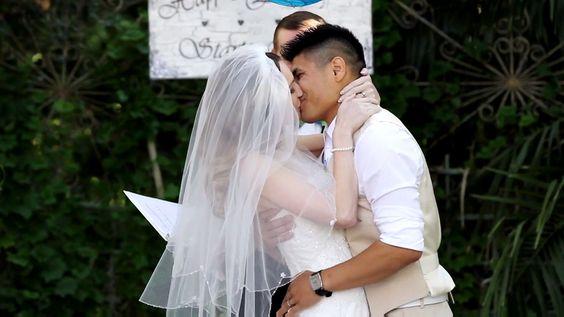 Best #wedding kiss EVER! ;)