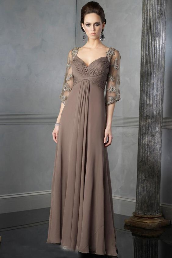mother of the bride dresses | Home  Wedding Apparel  Mother of the Bride Dresses  Brown Charming ...: