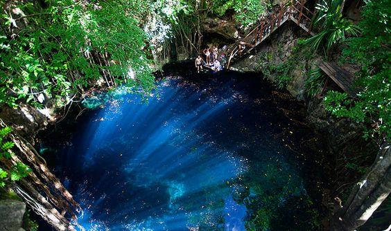 Cenote Yaal Utsil, Yucatán, México