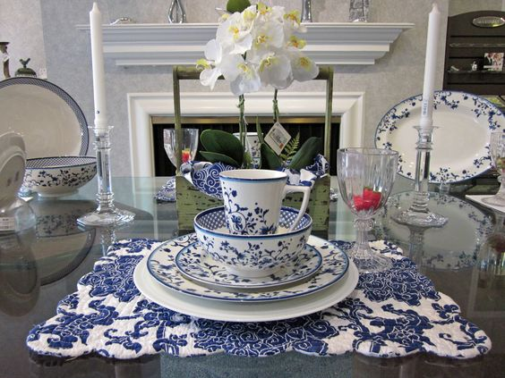 Come see our latest featured place setting spode s quot blue portofino