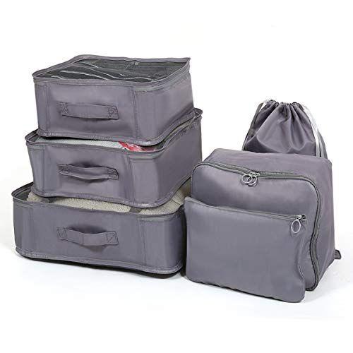 6PCS bagages organisateur valise sacs de stockage emballage Voyage Cubes étanche UK