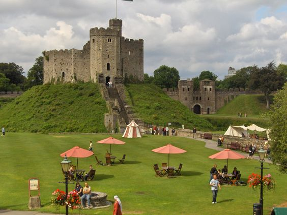 Wales! Cardiff is such a neat city, and I love the Welsh countryside! Castles everywhere!