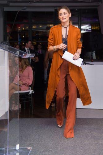 Olivia Palermo o cómo ir elegante con la tendencia lencera