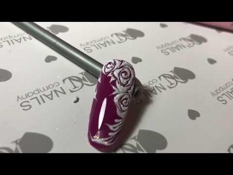Come Effettuare Una Rosa Stilizzata In Gel Effetto Zucchero Ilaria C Langella Youtube Nail Art Arte Per Unghie Unghie Idee