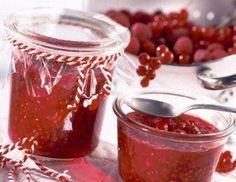 Himbeer-Johannisbeer-Marmelade Rezept: ml,Johannisbeeren,Himbeeren,Frucht
