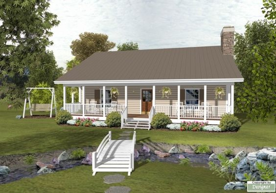 The Forest Lake Cottage House Plan 2298 2 Bedrooms 1 1