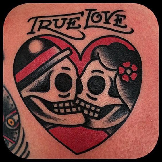 Songs couple and true love on pinterest for True love tattoos