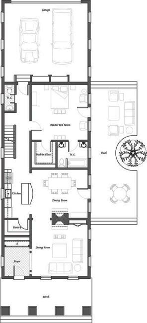 Shotgun House Plans Modern Google Search Small House