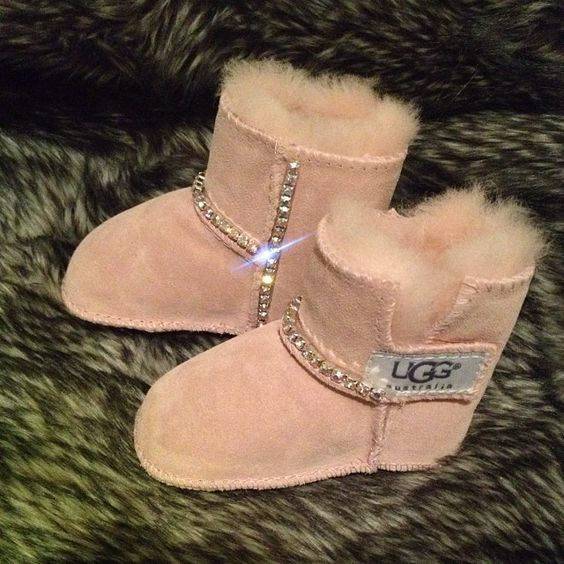 Baby Bling Uggs Cutest damn thing ever!! If I had a baby girl this would be. Must for in her closet ;)!!!