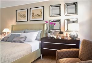 Transitional (Eclectic) Bedroom by Mimi Fong