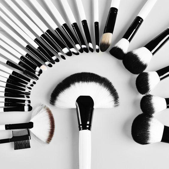 32 pc Pro Makeup Brush Set For Women Cosmetics – marketplacefinds