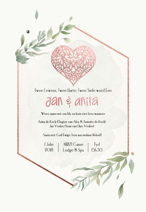 Wedding Stationery Designs Trots Afrikaans Wedding Stationery Invitation Designs Wedding Stationery Design Wedding Stationery Stationery Design