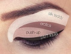 too faced natural eye palette looks - Google Search