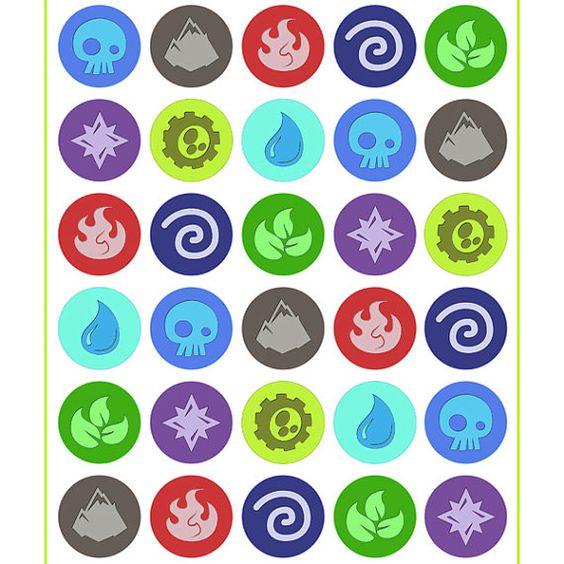 Icons and Skylanders on Pinterest