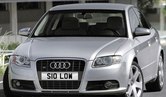 S10 LOW cheap cover number £3605 all inclusive www.registrationmarks.co.uk