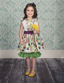 Persnickety Clothing - Easter Collection Hopscotch Dress